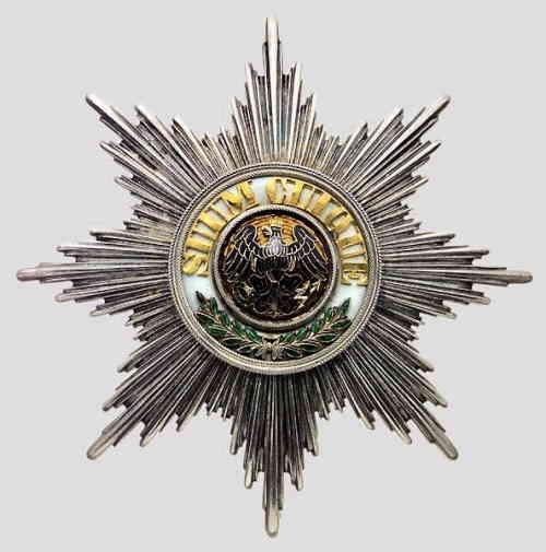 Звезда ордена Чёрного Орла