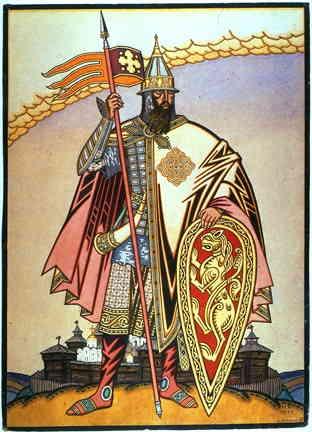 Князь Игорь (И.Я. Билибин., 1929 г.)