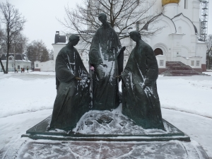 Ярославль. Скульптура Троица
