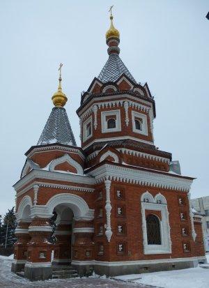 Ярославль. Часовня Александра Невского