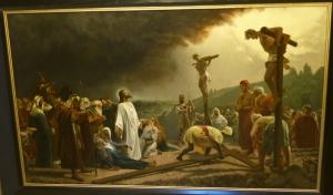 Ярославль. Музей зарубежного искусства. Голгофа. Неизвестный художник, австрийская школа, середина - конец 19 века
