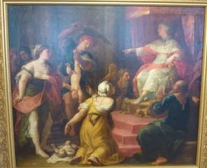Ярославль. Музей зарубежного искусства. Суд Соломона. Неизвестный художник, Италия, первая половина 18 века