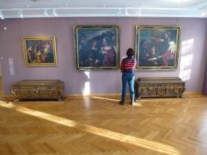 Ярославль. Музей зарубежного искусства. Зал искусства Италии