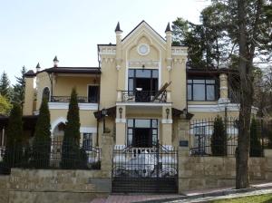 Кисловодск. Здание пансионата Серебряный век