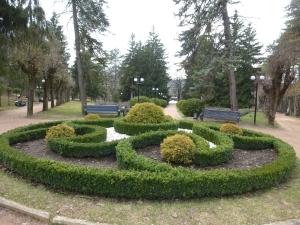 Кисловодск. Национальный парк «Кисловодский». Площадка роз (Царская площадка)