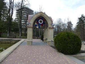 Кисловодск. Национальный парк «Кисловодский». Стеклянная струя и Зеркальный пруд