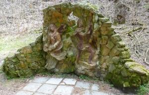 Кисловодск. Национальный парк «Кисловодский». Скульптура для фотографирования