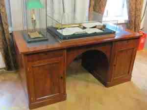 Рабочий стол Тютчева. Дом-музей Тютчева Ф.И. в Мураново (Москва)