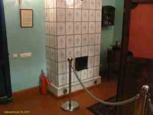 Музей Гоголя на Никитском бульваре. Еще одна печь в доме Гоголя. По одной из версий именно в ней он сжег вторую часть Мертвых душ