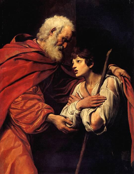 СПАДА ЛИОНЕЛЛО Возвращение блудного сына. Болонья, 1576 — Парма, 1622