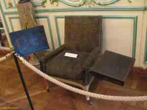 Кресло Вольтера. Музей Карнавале (Париж)