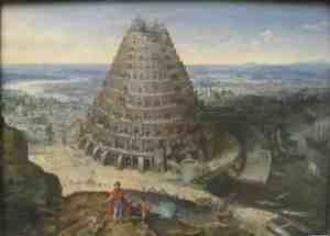 Вавилонская башня (Lukas Van Valckenborch, 1594)