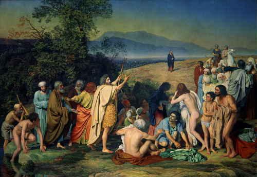 Иванов А.А. Явление Христа народу. 1837-1857