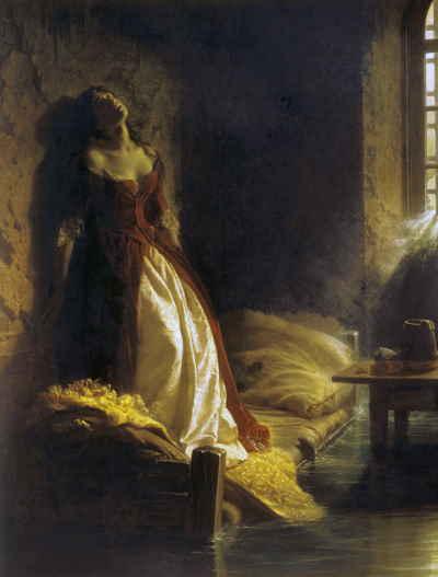 Флавицкий К.Д. Княжна Тараканова. 1863
