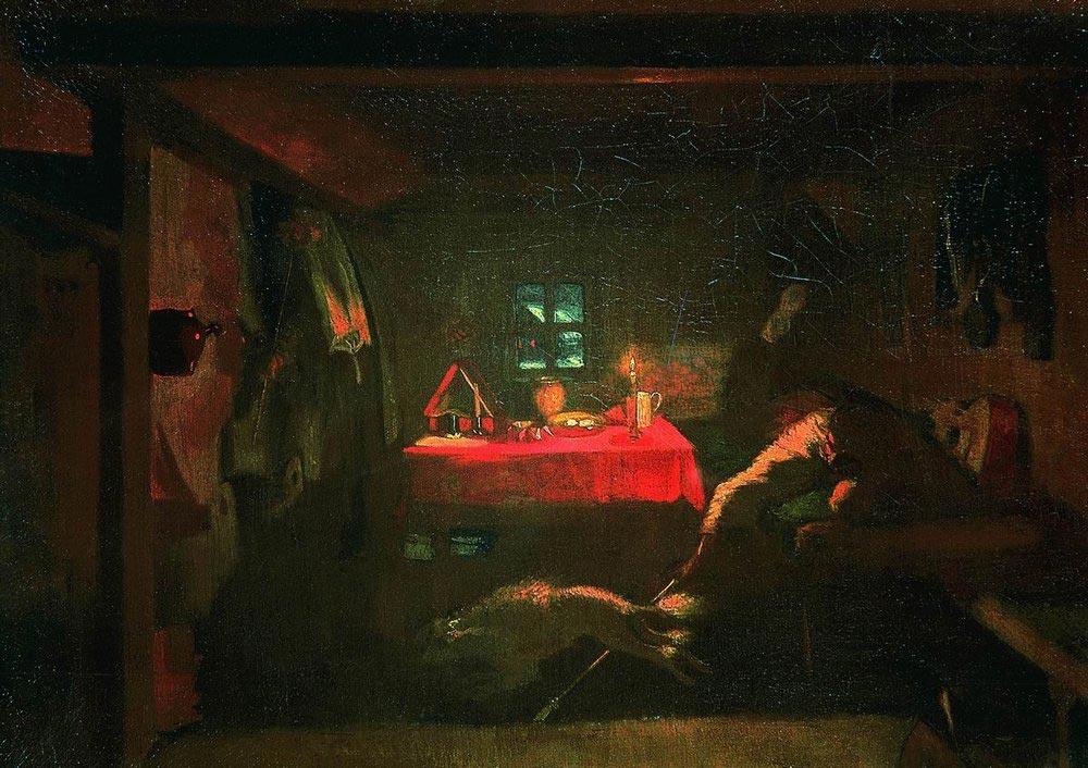 Анкор, еще анкор. Федотова П.А. 1851-1852. ГТГ