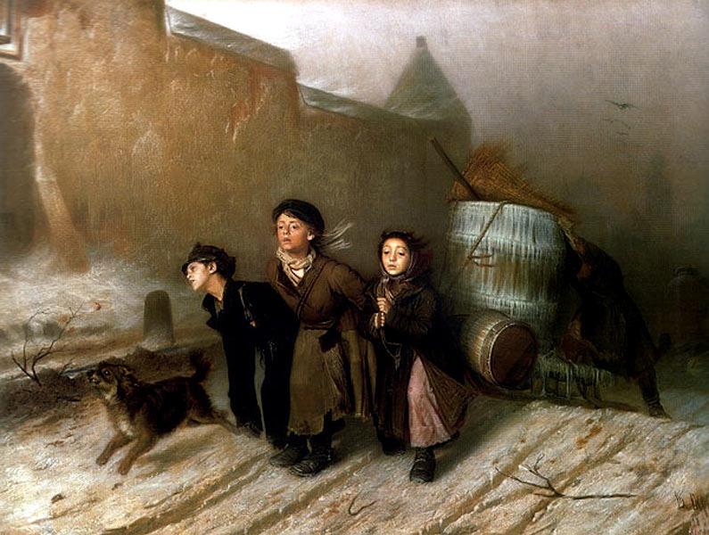 Суриков в утро стрелецкой казни 1881
