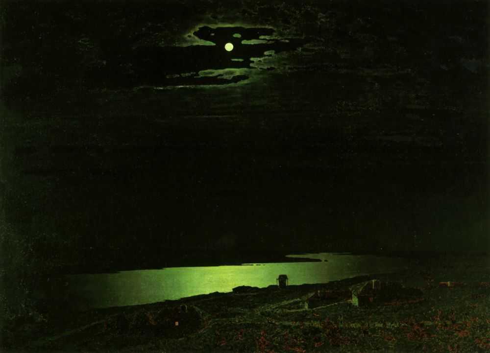 Лунная ночь на Днепре (Куинджи А.И.)