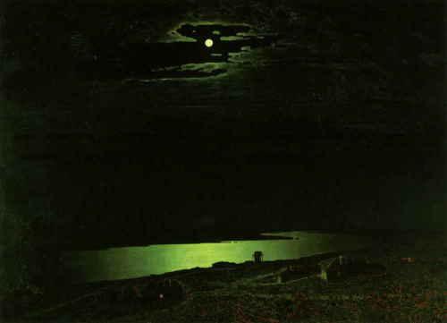 Ночь на Днепре, Куинджи А. И., 1882 г., ГТГ