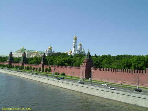 Московский кремль. Вид с моста