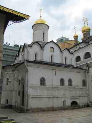 Московский кремль. Церковь Ризположения (Москва)