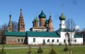 Ярославль. Церковь Тихвинской иконы Божьей матери