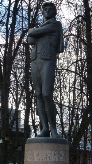 Ярославль. Памятник Фёдору Волкову