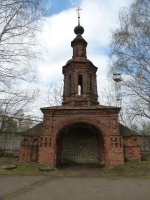 Ярославль. Церковь Иоанна Предтечи в Толчкове. Часовня