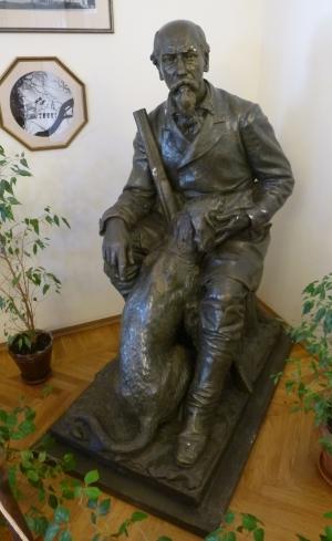 Ярославль. Карабиха. Памятник Некрасову Н.А.