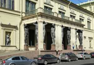 Портик Нового эрмитажа (Санкт-Петербург)