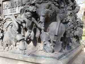 Памятник Крылову И.А. в Летнем саду (Санкт-Петербург)