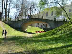 Павловский парк. Черный мост