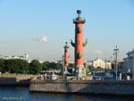 Санкт-Петербург. Ростральные колонны