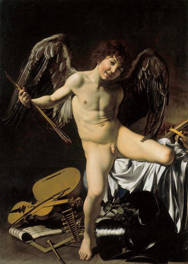 Amor vincit omnia, Караваджо, 1602