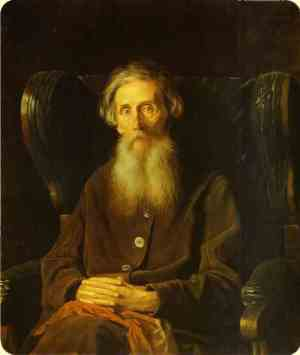 Портрет Владимира Даля, Василий Перов, 1872, ГТГ