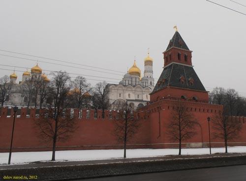 Московский кремль. Тайницкая башня