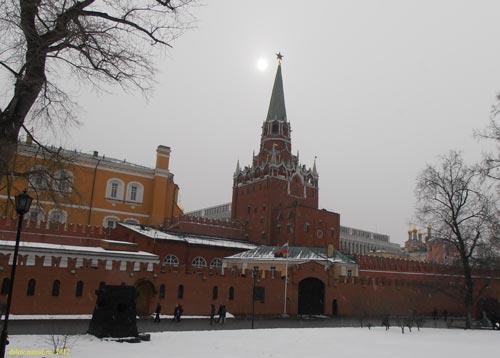 кремля, Троицкая башня