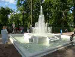 Фонтан пирамида. Летний сад. (Санкт-Петербург)