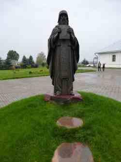 Памятник Преподобному Герасиму Болдинскому. Иоанно-Предтеченский монастырь (Вязьма)