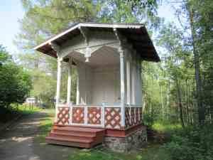 Марциальные Воды. Павильон, построенный к приезду императора Александра II