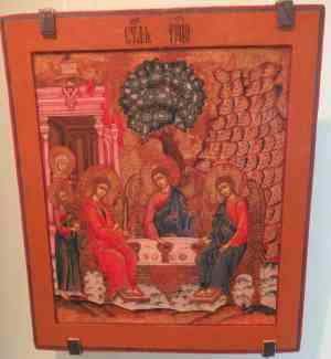 Святая Троица, Выго-Лексинское старообрядческое общежительство, 1-я половина 19 века. Музей изобразительных искусств Республики Карелия (Петрозаводск)