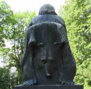 Памятник рунопевцам (Сортавала)
