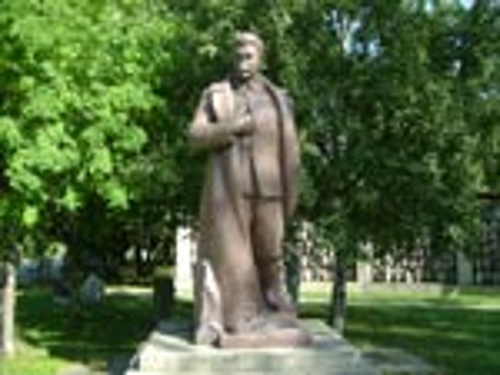 Парк искусств. Памятник Сталину И.В.