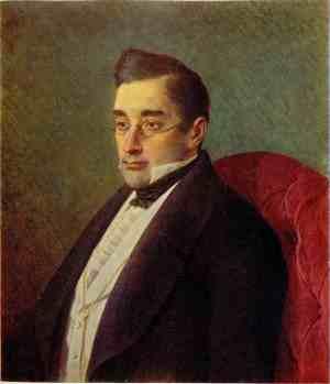 А. С. Грибоедов. Портрет работы И. Крамского. 1873 г