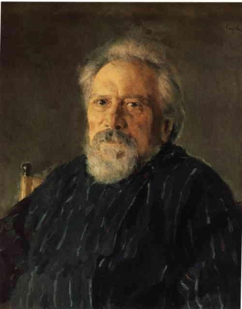 Портрет Николая Лескова, Валентин Серов, 1894 г.