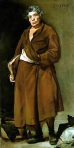 Эзоп. Диего Веласкес, 1639—1640 гг.