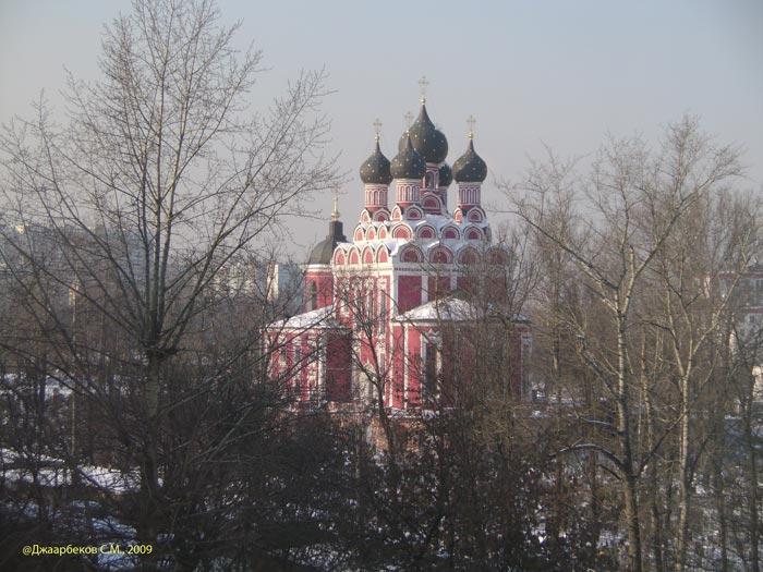 Москва. Тихвинская церковь в Алексеевском