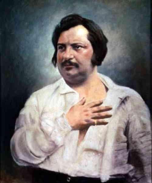 Портрет Оноре де Бальзака, написан в 1842 году художником Louis-Auguste Bisson