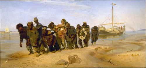Илья Репин, Бурлаки на Волге, 1872—1873