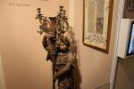 Усадьба Остафьево. Старинный канделябр из коллекции П.П. Вяземского (2014 г.)