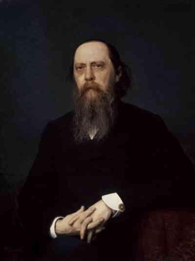 Портрет Салтыкова-Щедрина работы Ивана Крамского